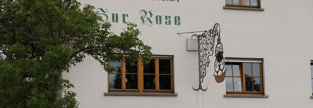 Unser Gasthof Hotel zur Rose in Weinheim Oberflockenbach